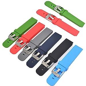 18mm 20mm 22mm silikon Armband für Samsung 360 Huawei smart Watch männer Schnellverschluss Armband Strap für smart Watch