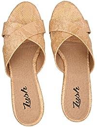 Lush Women's Wedges Trendy Premium Design Party Wear Girls Wedges And Heels