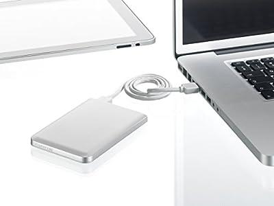 Freecom Mobile Drive Mg USB 3.0/FireWire800 2.5 Inch External Hard Drive - Parent Asin
