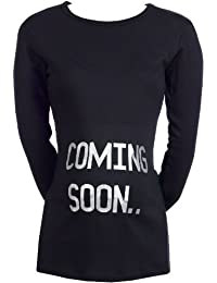 SR - Coming Soon Organic Women's Maternity Top - Maternity Clothing