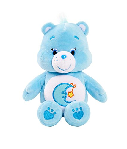 "Image of Vivid Imaginations ""Care Bears Bedtime Bear Bean Bag"" Plush Toy (Multi-Colour)"