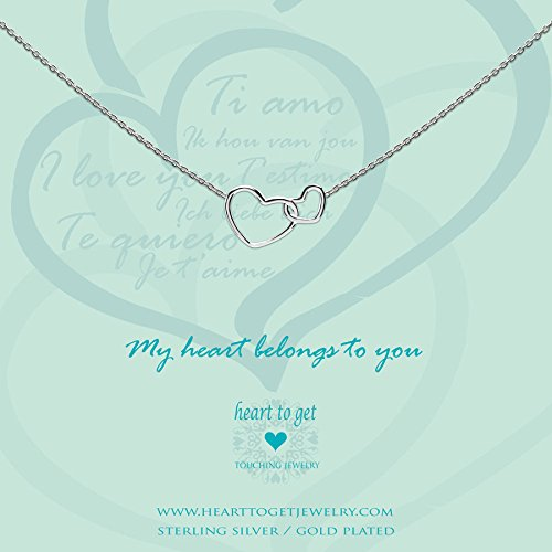 Heart to get Damenkette 925/ Silber N244ENH15S