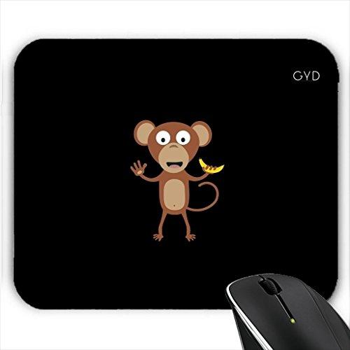 Mousepad - Affe Mit Banane by ilovecotton