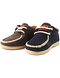 Blucher rodia - zapato de niño (33, Gris)