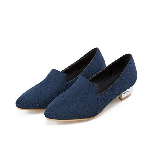 Balamasa - Sandales Compensées Pour Femmes Bleu