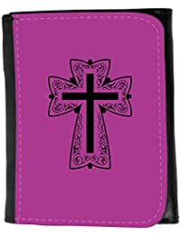 Small Faux Leather Wallet // Q07880621 christian cross 13 Byzantine // Small Size Wallet