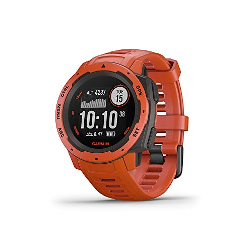 Garmin Instinct Outdoor Multi-Sport GPS Hartslagmeter Bluetooth Waterbestendig Smart Watch Flame Red