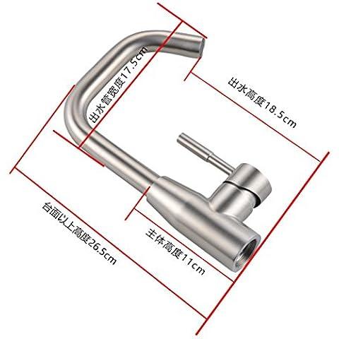 jylw acciaio inossidabile, Home Improvement rubinetti per lavabo calda e fredda, tutti rame rubinetto, Rubinetti (American Standard Lavatory Sink)
