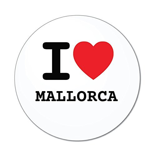 JOllify Aufkleber - Mallorca - Farbe: Design: I Love - Ich Liebe