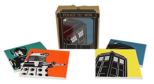 BBC Doctor Who Official Coaster Set, 4 Assorted Designs (Inviato da UK)