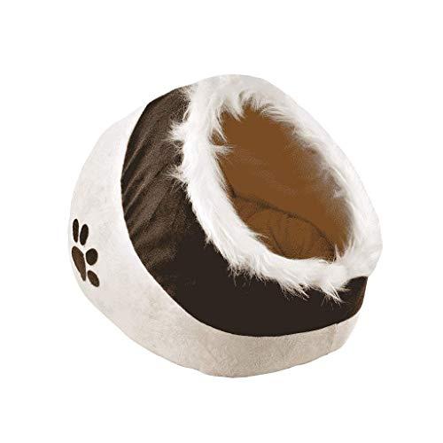 FJH Haustier-Nest-Tatzen-Druck-Katzen-Hundehaus importierte Gewebe-Welpen-Hundekampf-Teddy - Importierte Bettwäsche