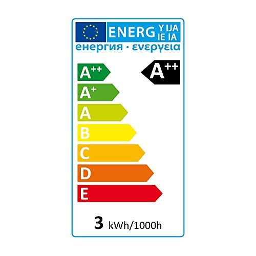 SEBSON E14 43SMD3014 Bombilla SMD LED, E14, 160º Haz de luz, 230V...