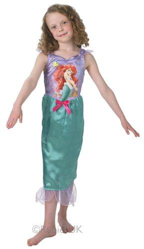 Ariel Disney Princess Fancy Dress Kostüm Mädchen Outfit Kinder Kinder S
