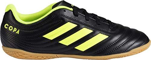 adidas Unisex-Kinder Copa 19.4 In J Fußballschuhe, Mehrfarbig Amasol/Negbás 000, 35 EU