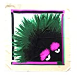 Fendi Damen Schal Grün Verde Rosa Nero Einheitsgröße