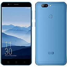 Elephone P8 Mini 4G Smartphone 5.0 Pulgadas Android 7.0 MTK6750T Octa Core 1.5GHz 4GB RAM 64GB ROM 13.0MP + 2.0MP Cámaras Traseras Escáner de Huellas Dactilares Móviles (Azul)