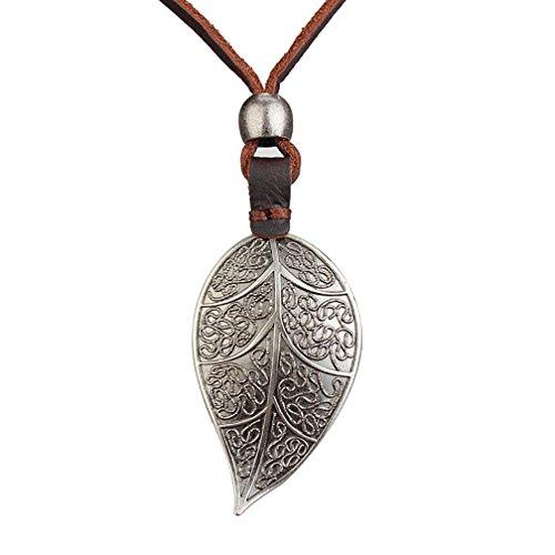 mjartoria-damen-halskette-herren-lederkette-surferkette-bronze-farbe-thong-choker-mit-anhanger-gravu