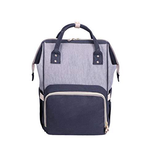 Bags Große Kapazität Rucksäcke Mode Moms Bags Outing Backpack Mummy Bags (Farbe : Blau, größe : M) ()