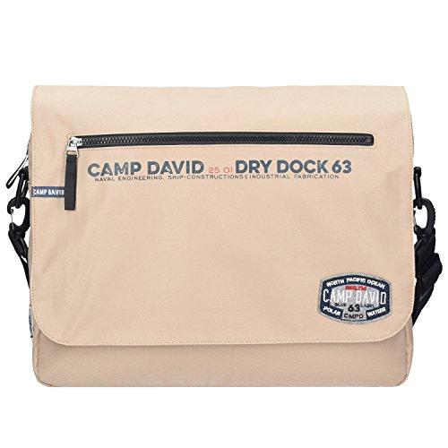 Camp David Norton Bay Messenger 40 cm Laptopfach - Marke Messenger