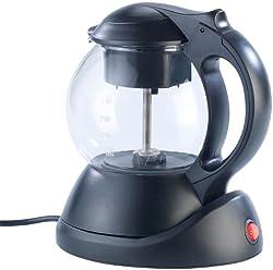 Rosenstein & Söhne Teemaschine: 2in1-Teebereiter & Wasserkocher WSK-310, 1 l, 600 W, Brüh-Funktion (Teeaufbereiter)