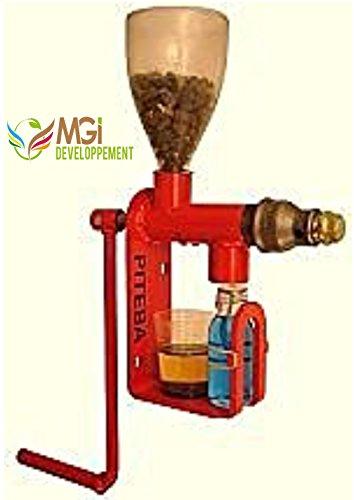 Presse à huile Manuelle - Pressoir à huile - Extracteur d'huile - Pour noix/noisettes/colza/tournesol/sésame etc... (olive en option)