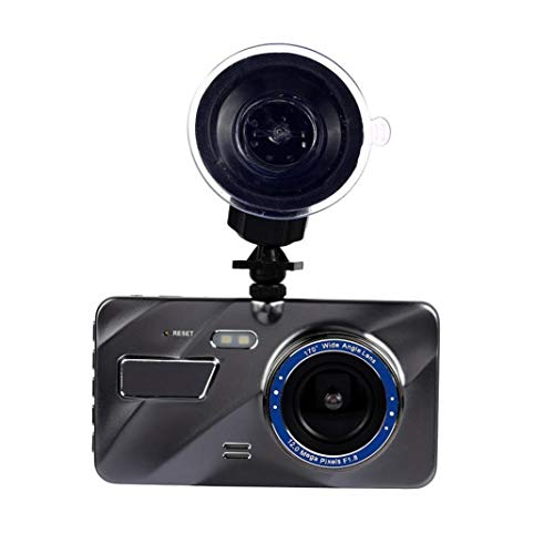 YSHtanj Dashcam Auto Video Player & Zubehör Kunststoff Sonde 10,2 cm 1080P Full HD Auto Fahren Nachtsicht Kamera DVR Dashcam Video Recorder -
