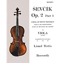 Ecole du mécanisme de l'archet opus 2, part 1, pour violon alto