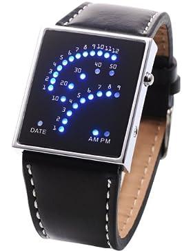 Orrorr AMPM24 Oshen Neue LED Digital Kalender Mens Sport -Quarz-Armbanduhr OHS004