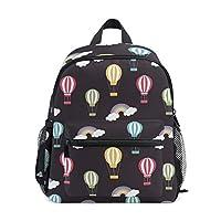 Grey Pet Cat Kids Backpacks School Bags for Boys Girls