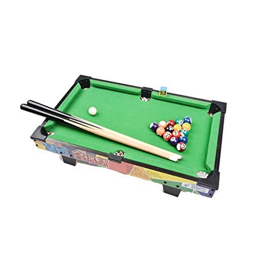 Mini Mesa de Billar billares de Madera portátiles Juguetes interactivos para el...