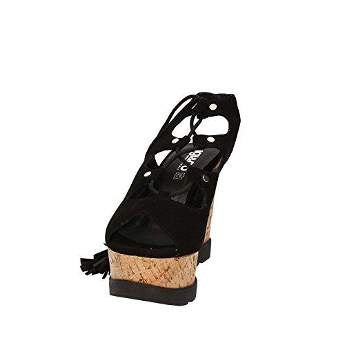 Igi&Co 7840 Sandalo zeppa Donna Nero