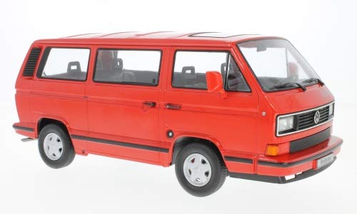 VW Bus T3, rot, 1993, Modellauto, Fertigmodell, KK-Scale 1:18 -