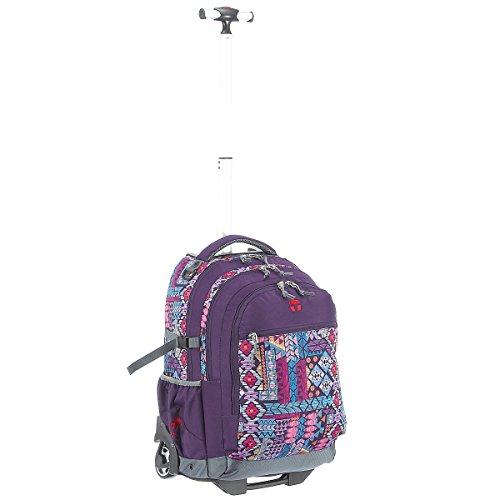 Take It Easy Rucksack Trolley BARCELONA Aztec lila 499059 aztec lila
