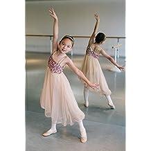 Pegasus Galaxy niña de tul tutú de ballet Danza Disfraz Marrón vestido
