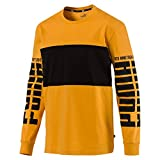 Puma Herren Rebel Up LS Tee T-Shirt, Sunflower, XL