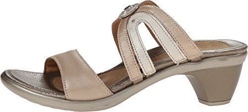 Naot - Pantofole Donna Beige (silver champagne)