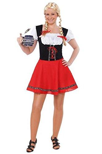 Imagen de disfraz chica tirolesa talla única