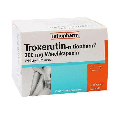 Troxerutin-ratiopharm 300 100 stk