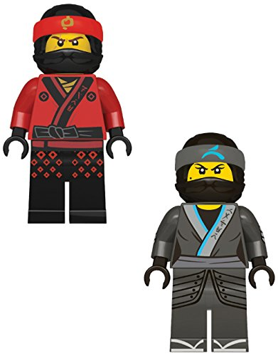 Lego 51966 Radierer, Ninjago Movie, 7,5 cm, 2er Set