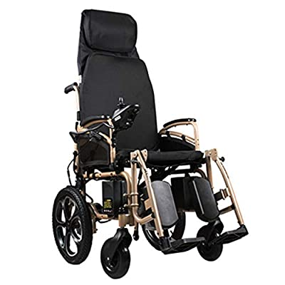 EMOGA Electric Powered Wheelchair Folding Lightweight 39Kg,Strong And Durable For The Use,Motorized Wheelchairs Convenient For Home And Outdoor Use