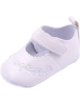 Lukis Baby Mädchen Gestickte Ballerina Festliche Tauf Schuhe Lauflernschuhe