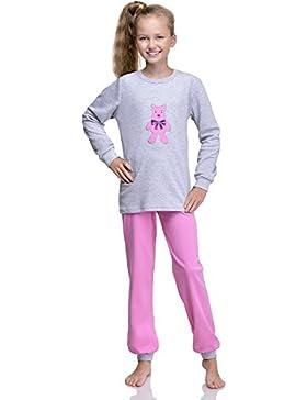 Timone Mädchen Schlafanzug 279 v2