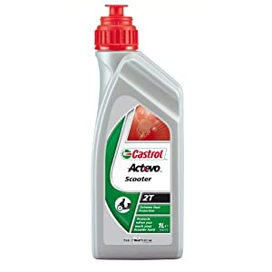 Castrol 151AA0 Act Evo Scooter 2T, 1 L pas cher