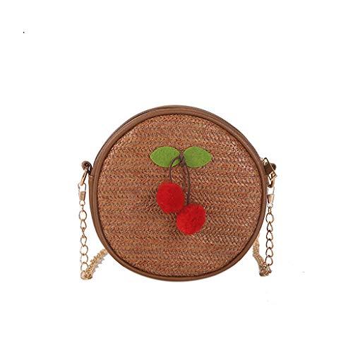 Mitlfuny handbemalte Ledertasche, Schultertasche, Geschenk, Handgefertigte Tasche,Frauen-wilde Kuriertasche-Art- und Weiseschultertasche-kleine runde Tasche - Kleiner Chrome-rahmen