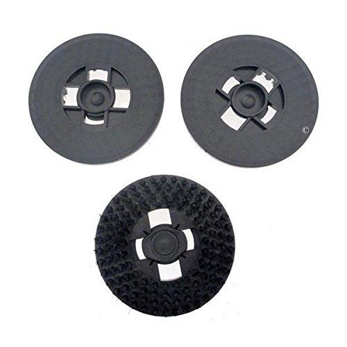 Z17Bürste schwarz (X3)–Kauf nach 2007–Hartfaserbürste–Electrolux, Hoover