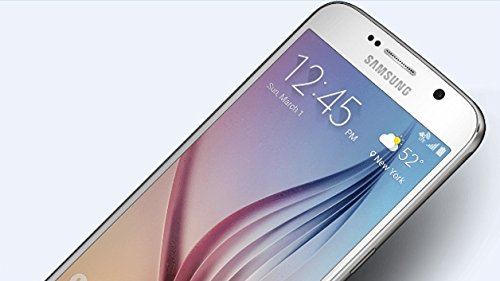 Samsung Galaxy S6 Edge Smartphone (5,1 Zoll (12,9 cm) Touch-Display, 32 GB Speicher, Android 5.0) weiß (Iphone Unlocked Gsm-handys)