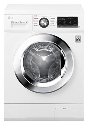 LG Electronics F 14G6 TDM2NH Waschtrockner / A /1088 kWh/Jahr / 1400 UpM / 8 kg / 11200 L/jahr /...