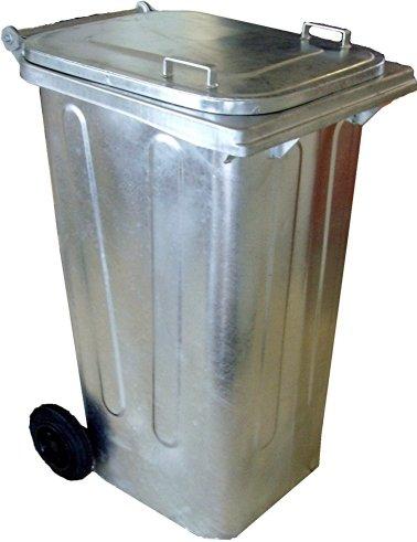 #Mülltonne 240 liter Stahl#