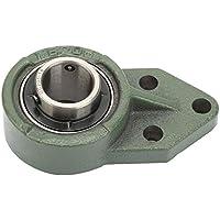Rodamiento de inserción de alta precisión NITRIP UCFB205-16 Rodamiento de brida de bola de 3 pernos con tornillos de fijación Accesorios