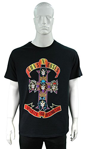 Guns N Roses Classic T-shirt: Appetite for Destruction ~ ~ Ufficialmente Licesned ~~ Formato: X-Grande